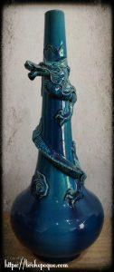 Vase Japonais dragon