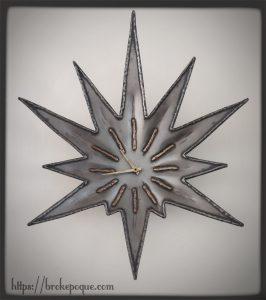 horloge étoile